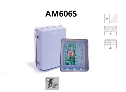 Cuadro de maniobras AM606S para puertas corredera y basculantes analogico