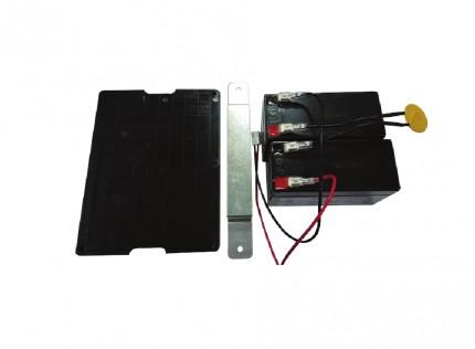 Baterías auxilares ASM01 para automatismos de puertas