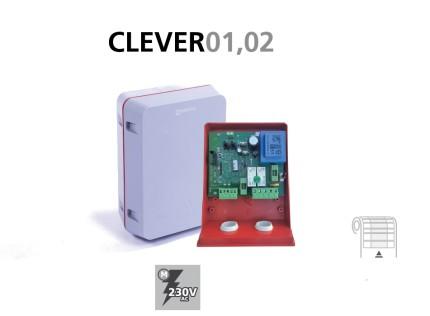 Cuadro maniobra CLEVER01, 02 para persianas enrollables analógico