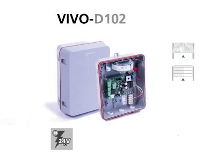 Cuadros electrónicos digitales VIVO-D102 puertas basculantes y seccionales