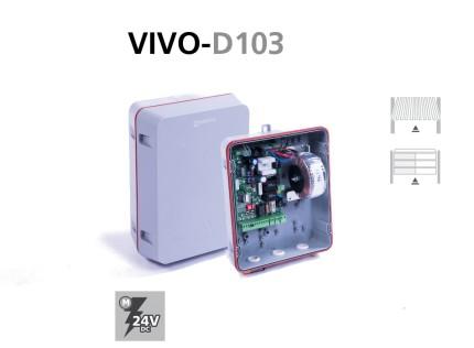 Cuadros electrónicos analógicos VIVO-D103 puertas basculantes y seccionales