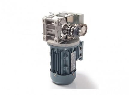 Motores seccionales industriales Sirius con desbloqueo para puertas seccionales