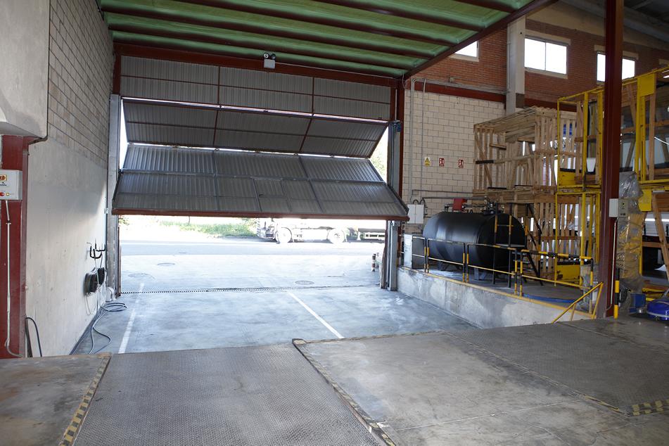 Puertas estancas para atmósferas ATEX a medida